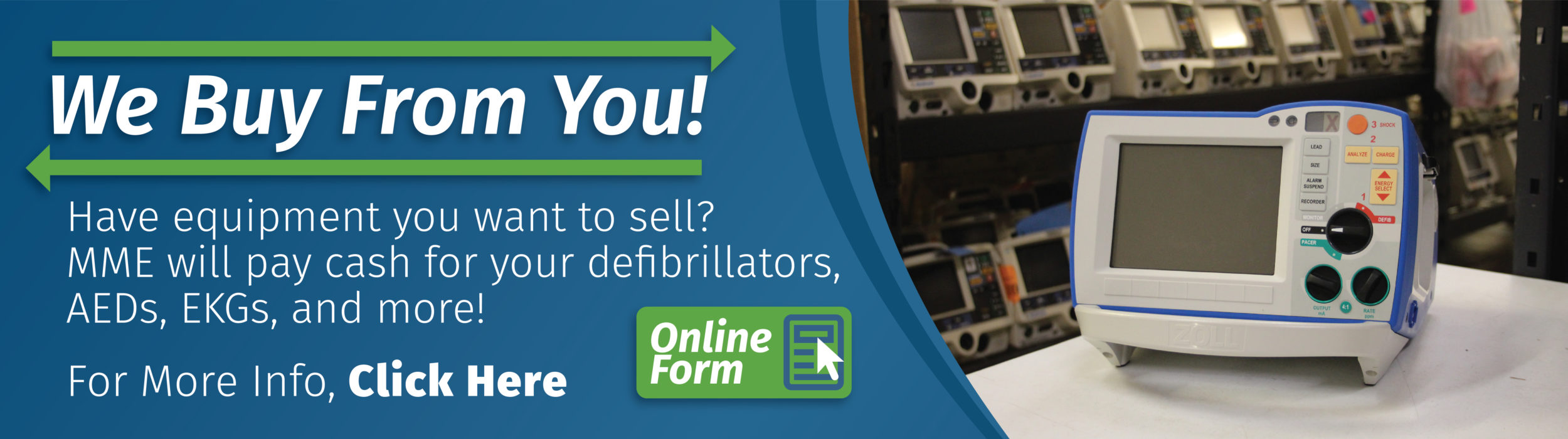 New, Refurbished & Used Medical Equipment - MME